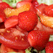 Salat-Aprikosen-Erdbeeren-T