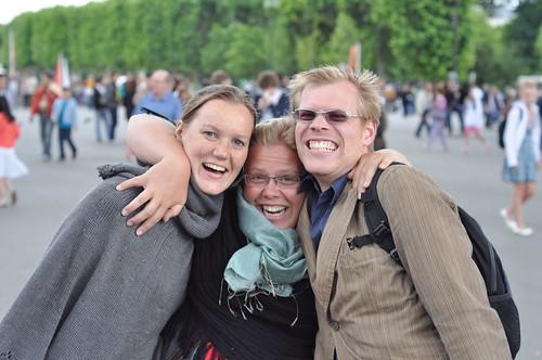 Gwendolyn, Jordi and Ivar