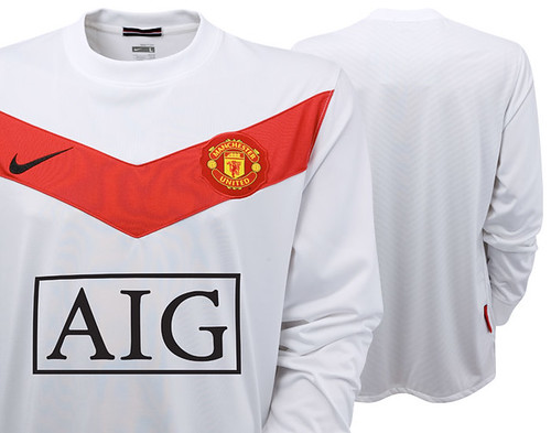 Manchester United 2009/10 home goalkeeper jersey