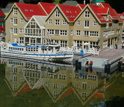 Legoland - reflection