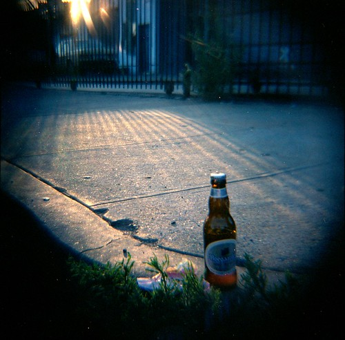 Still Life with Beer and Litter