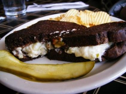 jesperson's grilled swiss dill sandwich