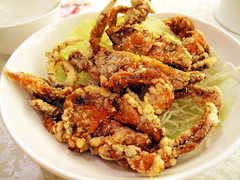 fried soft shell crabs @ victoria city restaurant