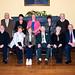 Miceal, Mary Chapman, Catherine Harrington, Ann Chapman, Jack Brennnan  Front Pauric Chapman, Lynn J and M, Margaret Brennan, Gene Harrington