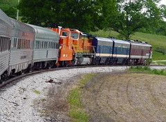 Tennessee Central Railway Museum Excursion Train to Monterey TN (vtrrbear) Tags: train monterey stainlesssteel nashville tennessee streamlined excursion streamliner tcrm tennesseecentralrailwaymuseum