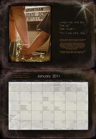 Tanya's Calendar - Jan11
