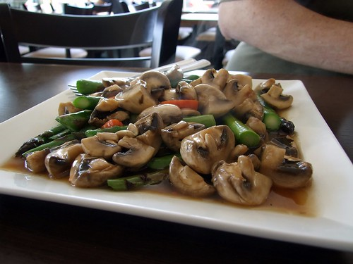 Mushrooms and Asparagus!