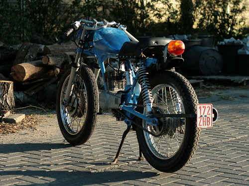 Honda CB50 Custom Bike