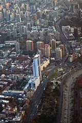 Plaza italia, Santiago de Chile (Fabro - Max) Tags: chile aerialview sudamerica santiagodechile vistaaerea vistaarea santiagodochile skyscrapercity reginmetropolitana southameria