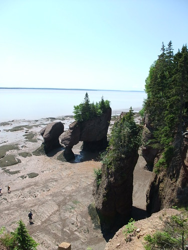 view of Hopewell Rocks
