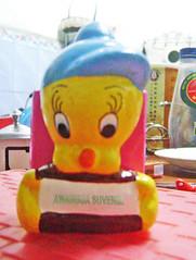 souvenir gypsum tempat pensil twity
