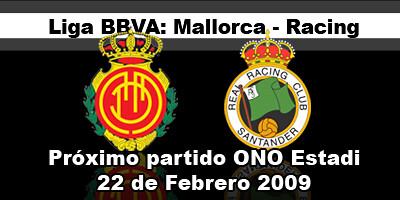 partido Mallorca Racing