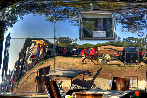 Reflection on an Airstream