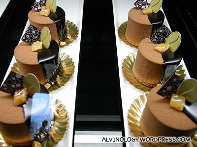 Delicious looking cakes at the Ishiya cafe