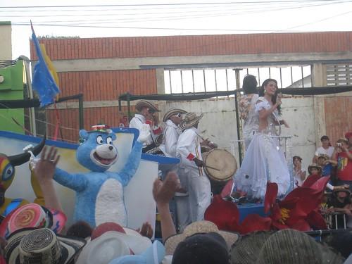 Carnaval float