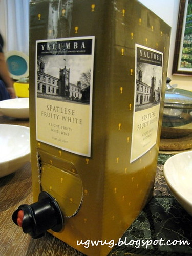 Yalumba Cask Wine - Spatlese Fruity White Vintage 2007