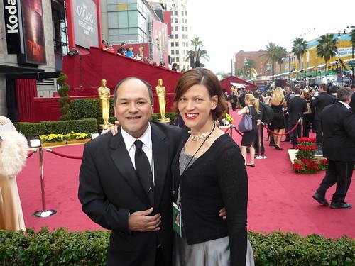 Oscars 2009: Greg Hernandez & Sandra Barrera