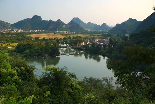 El nostálgico paisaje de China. Guilin (1)