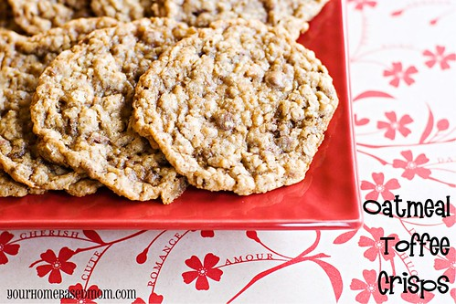 oatmeal toffee crisps - Page 259