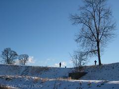 Kastellet (Betty Olsen) Tags: trees winter sky sun snow soldier kastellet