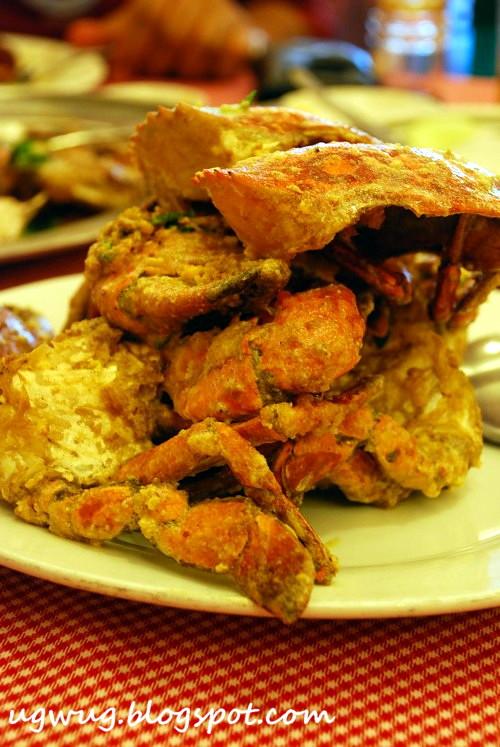 Salted Egg Yoke Crabs