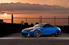 Leguna Seca Blue Carbon Fiber 350Z (_jvns) Tags: blue cars photography team texas nissan mr aaron wheels houston automotive turbo z flush carbon fiber seca import 350z cf jdm aristo stance boosted nismo rwd leguna sunworks