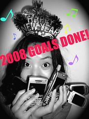 2008 goals - DONE