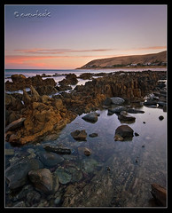 Mirror Mirror (Dylan Toh) Tags: seascape reflection beach nature pool clouds landscape dawn coast rocks south hill australia shore 1020mm headland carrickalinga everlook auselite bestofaustralia everlookphotography