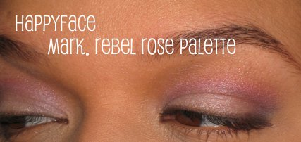 mark. rebel rose palette 3