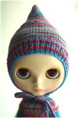 striped pixy hood^^