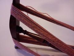Plied handspun hand-dyed merino yarn
