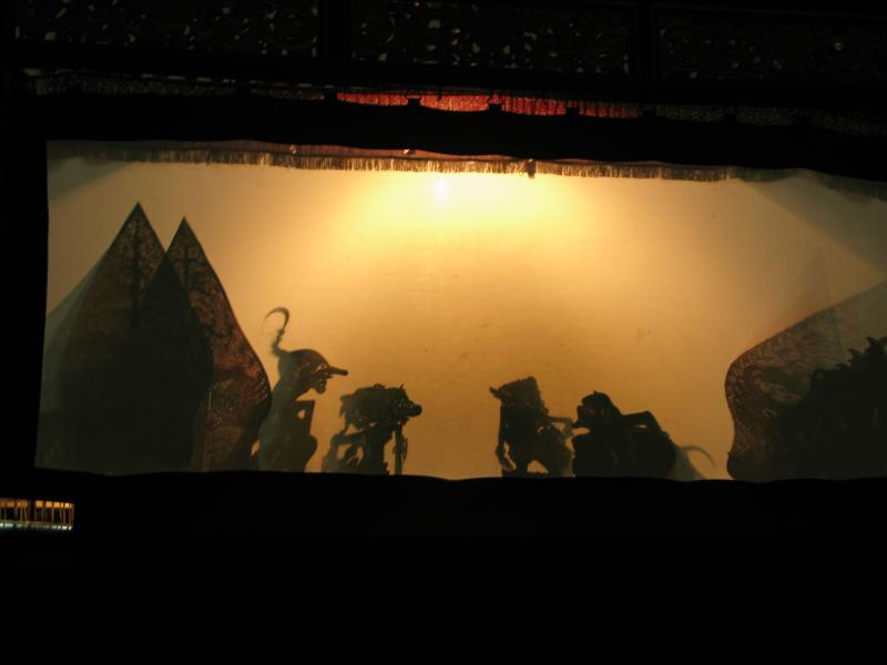 Shadow Puppet Museum Yogjakarta Indonesia Sonobudoyo Ramayana