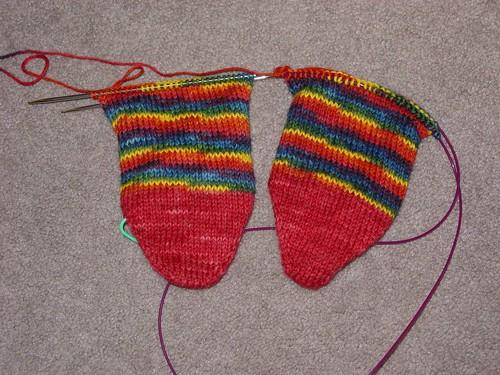 Paca Peds HT Socks (back)