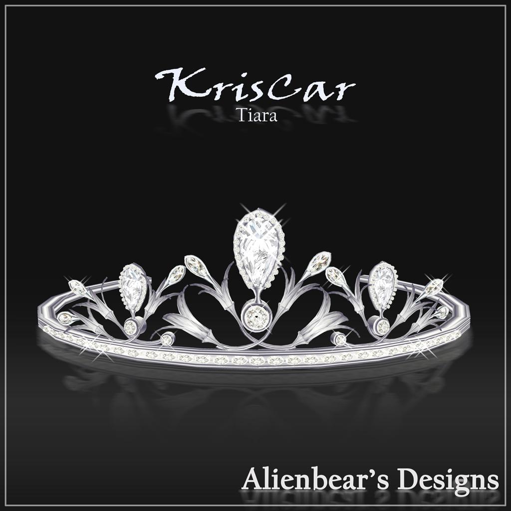KrisCar Tiara white