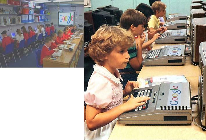 8-Children studying at Google Third World