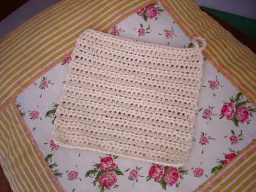 Paninho de crochê