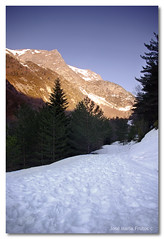 Camino al paraiso... / Road to paradise... (encore_0) Tags: road espaa mountain snow tree pine way arbol spain huesca camino maria nieve jose cedar fir montaa pino pyrenees frutos pirineos canfranc abeto cedro encore0