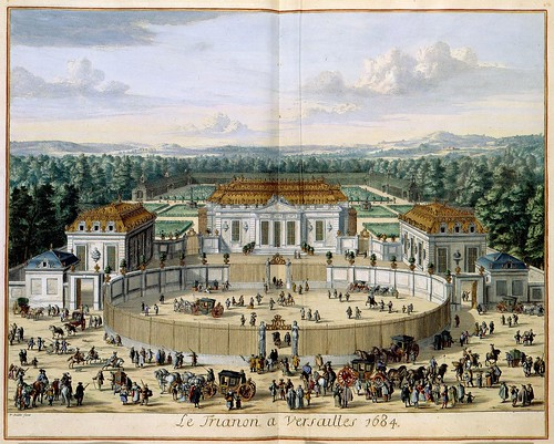 Le Trianon de Versailles 1684 by William Swidden