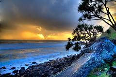 Storm Over Burleigh (photomacka) Tags: sunrise surf waves surfing goldcoast burleighheads proudshopper burleighpoint goldstaraward interetingphotos