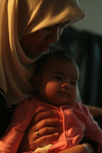baby and auntie mira by you.