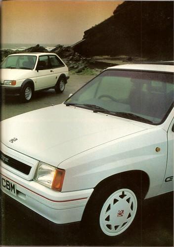 Vauxhall Nova Gsi. Vauxhall Nova GTE