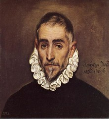El Greco (1541-1614) -1585-95 Elderly Gentleman (Prado) (RasMarley) Tags: portrait greek spanish painter prado renaissance 16thcentury elgreco 1585 1580s spanishrenaissance elderlygentleman