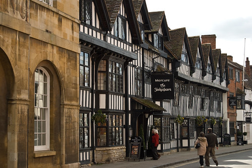 Street in Stratford-Upon-Avon