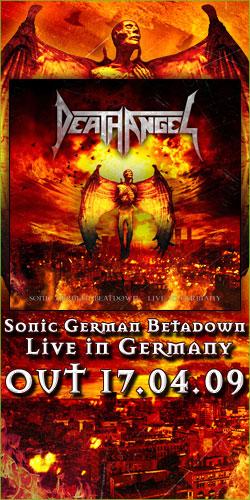 Death Angel Sonic German Beatdown Death Angel To Release...