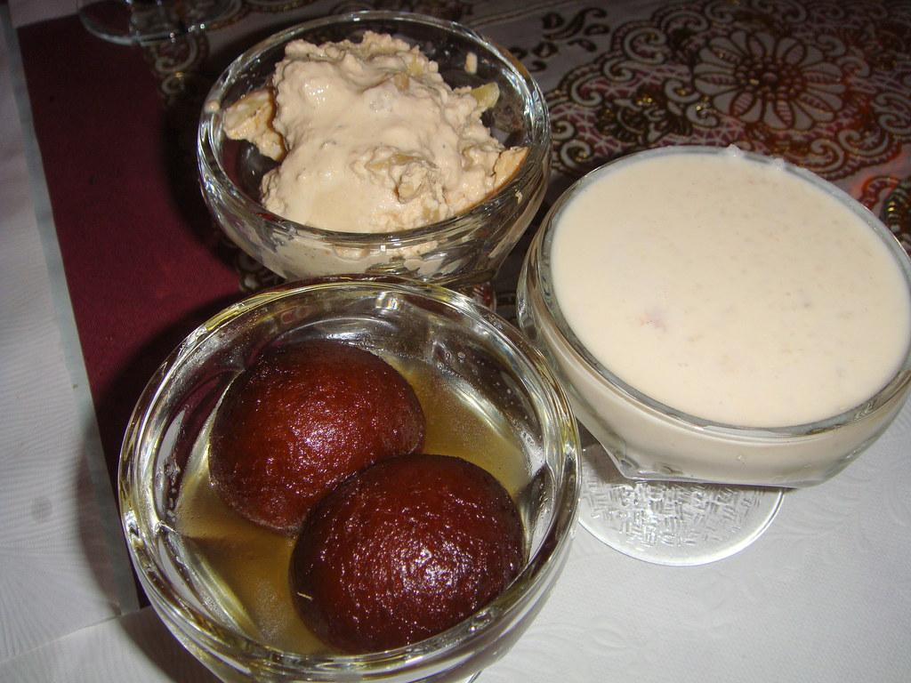 Gulab Jamoon, Keer, Kulfi