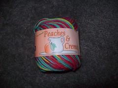 100_0564 (MrsLewis907) Tags: pink blue green yellow purple yarn cotton multi peachesncream