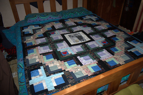 Pip and Dave's quilt