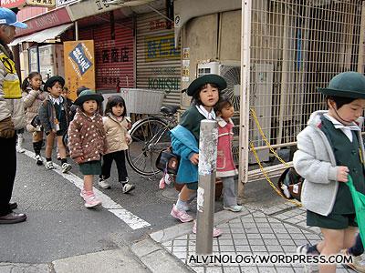 Kids on excursion