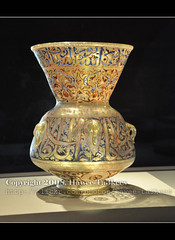 Islamic Vase #1,     -  ({ahradwani.com} Hawee Ta3kees- ) Tags: history nikon close collection ali vase hassan 2009 islamic doha masterpieces   d90      18105mm museumofislamicart nikond90     qatarislamicmuseum   nikond90club nikon18105mm hawee 18105mmlens    qatarartmuseum  haweeta3kees   ta3kees ahradwanicom ahradwani