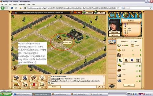 Classes in Civony MMORPG